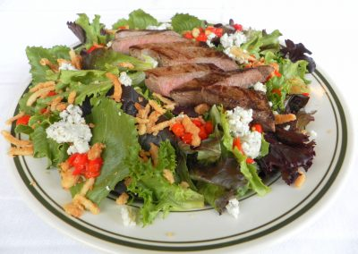 Top Sirloin Steak Salad