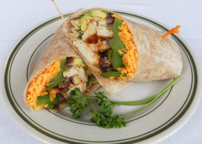 Chicken Avacado Wrap