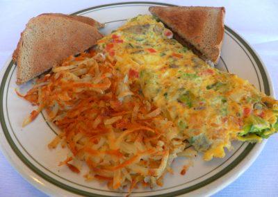 Red Olive Omelette