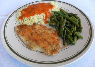 Pan-Fried Tilapia
