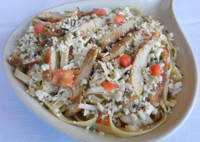 Chicken Greek Pasta Dinner