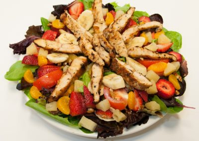 Chicken Fruit Salad Red Olive Restaurant
