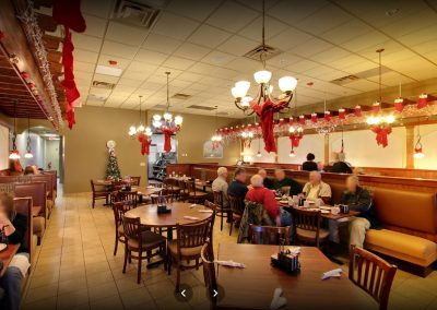Red Olive Restaurant Auburn Hills Dining Room