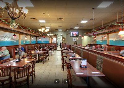 Mediterranean American Cuisine St Clair Shores Red Olive Restaurant Dining Room