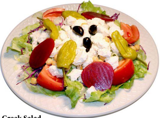Greek Salad Red Olive Restaurant