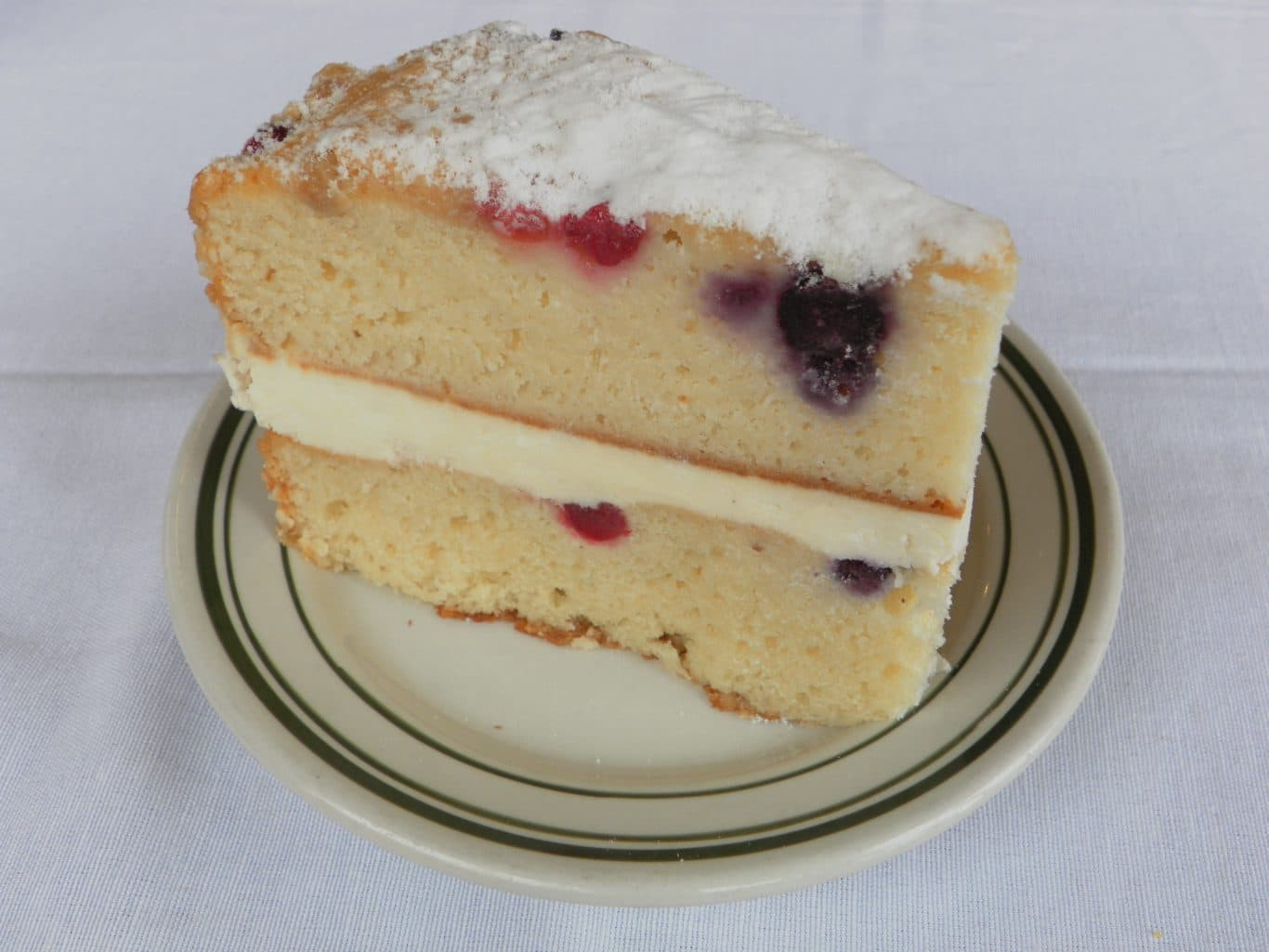 Berry Mascarpone Cake
