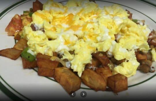 Breakfast Eggs & Potatoes