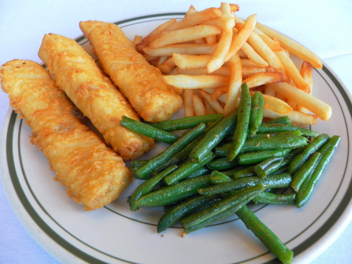 Iceland Cod Fish & Chips