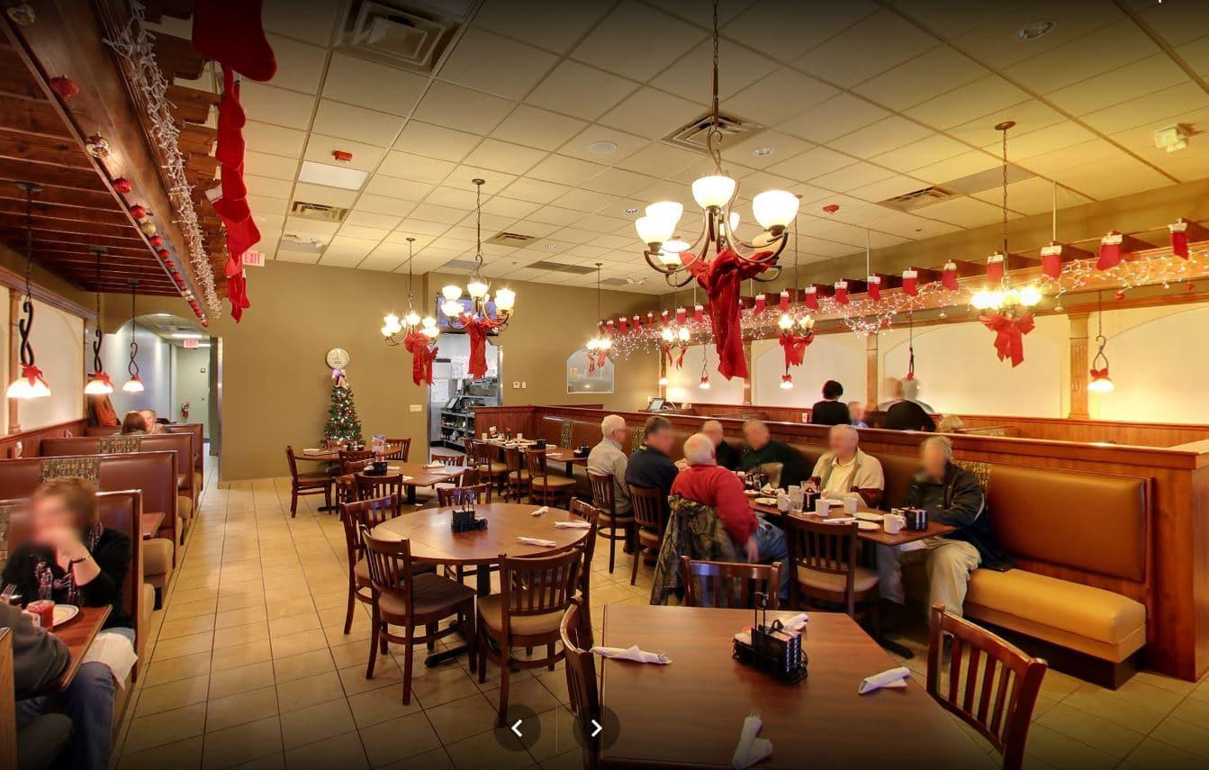Red Olive Restaurant Auburn Hills Dining Room