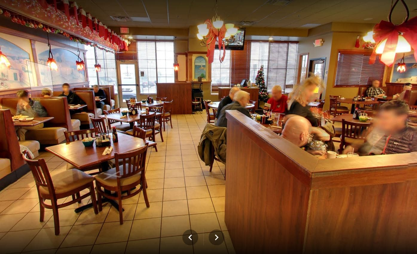 Mediterranean American Cuisine Rochester Red Olive Restaurant Dining Room 2