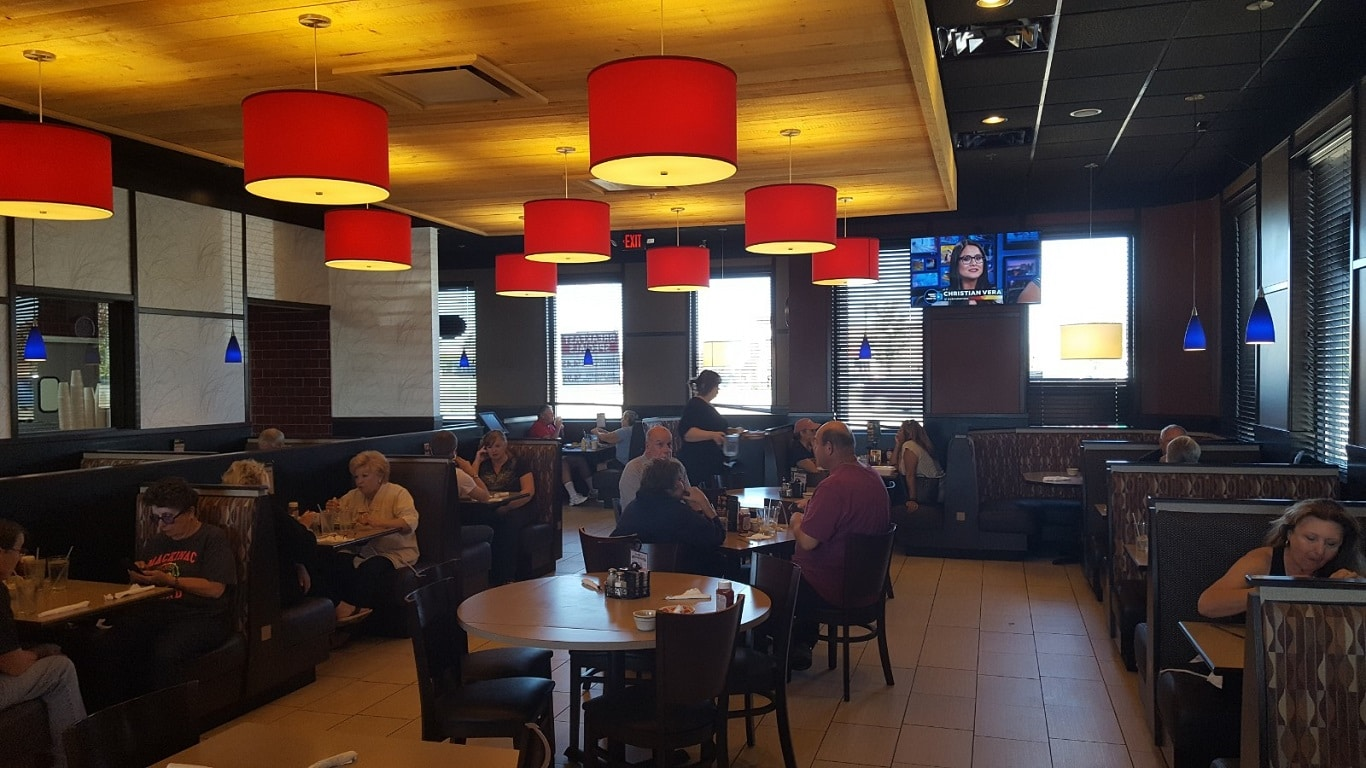 Red Olive Restaurant Howell Dining Room